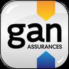 GAN Assurances Cherbourg Centre Logo